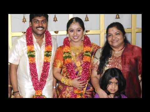 Chitra with her family