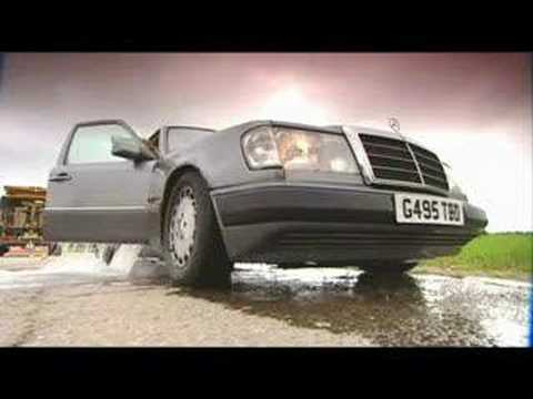 Fifth Gear TV show, killing a nice Mercedes!!