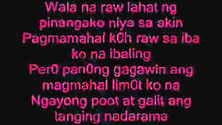 Huwad with Lyrics by CRAzY as PiNoy
