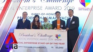 Awards given to Singapore's top social enterprises