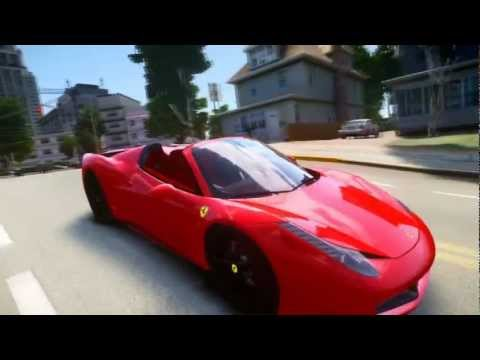 GTA IV - 2013 Ferrari 458 Italia Spyder