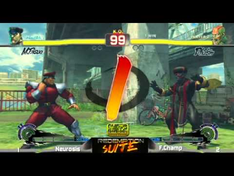 SSF4 AE: Shungoku Neurosis (Dictator) vs Filipino Champ (Dhalsim) - Redemption Suite After Evo 2011