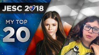 Junior Eurovision 2018 - My Top 20 (So Far) + ?? ??