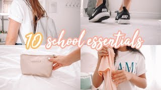 10 Back To School Essentials!! (you need these)