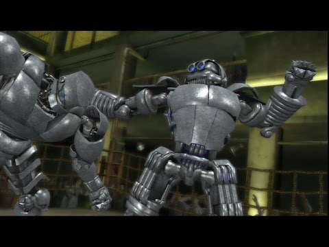 Real steel the video game online-punishment(Живая сталь)-наказание