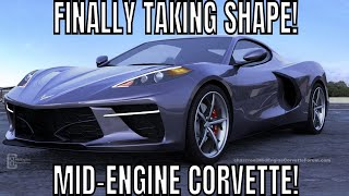 The Chevy C8 Mid-Engine Corvette Is FINALLY Taking SHAPE!