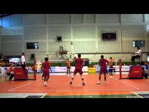 세팍타크로 이갓컵 결승전(sepaktakraw Egat Cup Final) 2013 - Thailand Vs Malayisa video