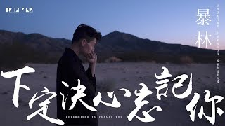 【HD】暴林 - 下定決心忘記你 [歌詞字幕][完整高清音質] ♫ Bao Lin - Determined To Forget You (Feat. 乞丐)