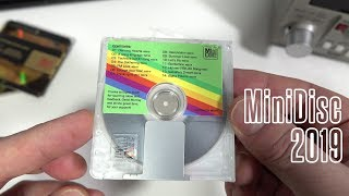 A New MiniDisc Album...in 2019
