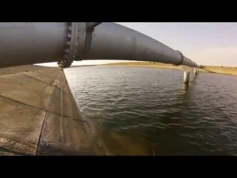 TnS - Striper Fishing - California Aqueduct 9/20/2014