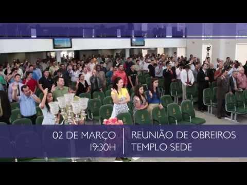 Agenda - Assembleia de Deus de Içara - Dia 28 02 a 02 03 2015