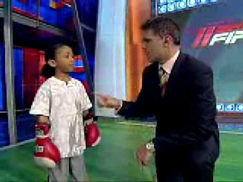 6 year old boxing kid AMAZING Image 1
