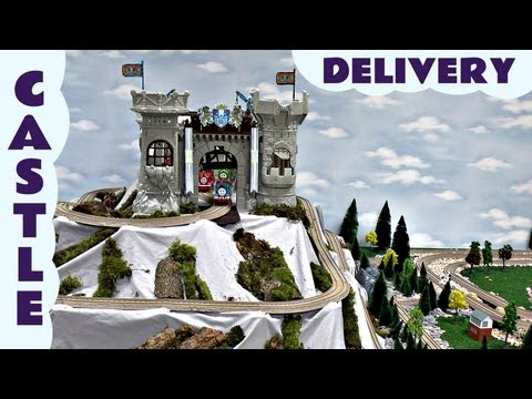 Thomas And Friends King Of The Railway Ulfstead Castle Delivery Thomas The Tank Kids Toy Train Set
