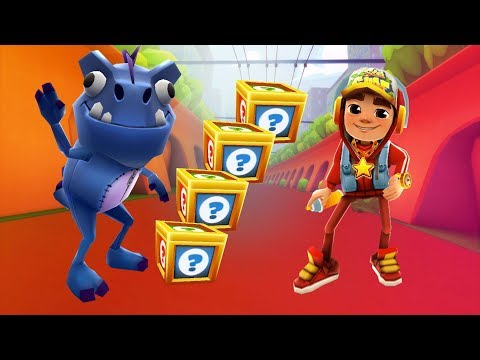 Subway Surfers Gameplay - Dino Facebook Special vs Jake Star Outfit/ Cartoons Mee