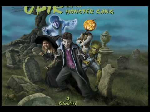 Upir and the Monster Gang Book Trailer