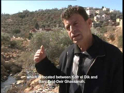 Water Issue In Palestine