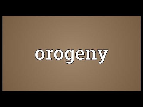 Header of orogeny