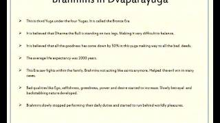 Padmavyuham - Brahmins Presentation By Padmavyuham