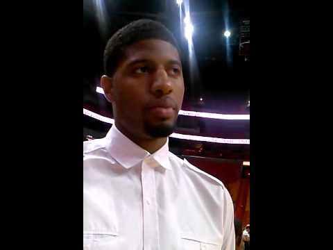 James Oyola 1 on 1 with Indiana Pacers star Paul George