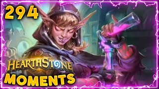 Awesome Kabal Chemist RNG!! | Hearthstone Gadgetzan Daily Moments Ep. 294 (Funny and Lucky Moments)