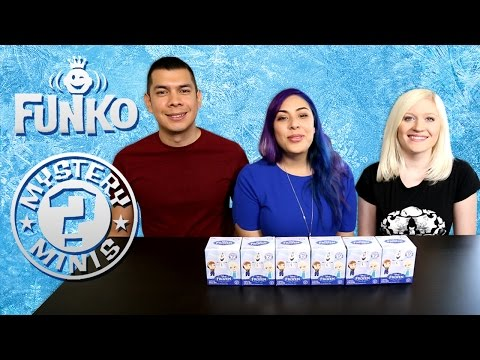 Funko Frozen Mystery Minis Blind Boxes! Full Case Opening Part 2 video