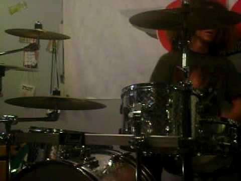 Kriss Drum solo in the Studio