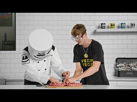 download song Blazin' HOT 🔥Baby Back Ribs (Feat. Faze Blaze) | Cooking with Marshmello free
