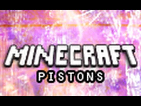 Minecraft Mods: Pistons (Piston Mod Demonstration) Music Videos