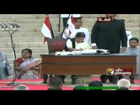 Narendra Modi's cabinet: Rajnath Singh, Sushma Swaraj & Arun Jaitley