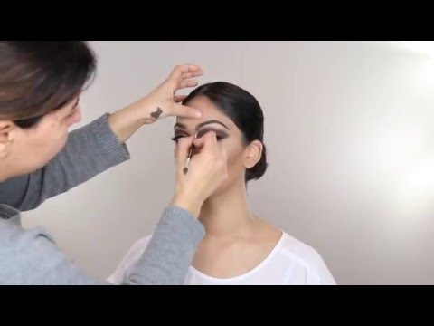 Indian Arabic bridal makeup 59591AEA 334E 4828 B21D E36F468FD243