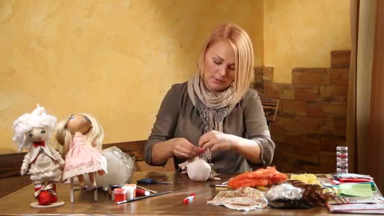 """Ручная работа"""". Кукла тыквоголовка (12.11.2014)"""
