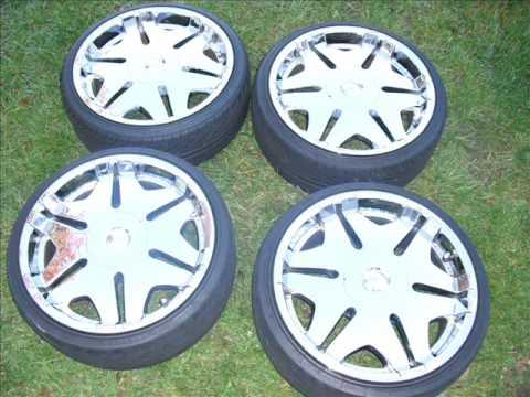 33 Inch Tire 20 Inch Rim >> 20 Inch Rims For SALE! - YouTube