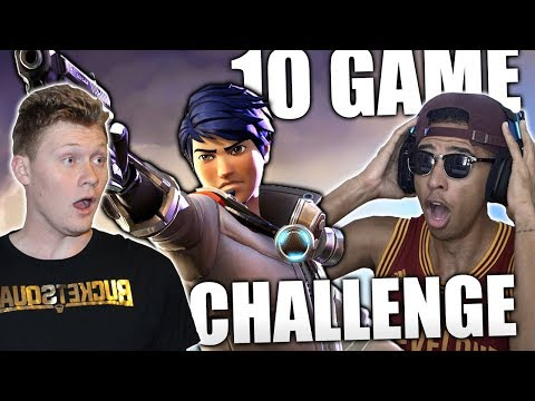 Unreal Moment In Insane 10 Game Fortnite Battle Royale Challenge