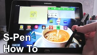 Samsung Galaxy Note 10.1 2014 Edition S-Pen Guide