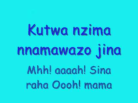 Diamond Platnumz- Moyo Wangu Lyrics video