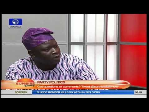 Sunrise Daily: Political Scientist Speaks on Politics In Nigeria PT2