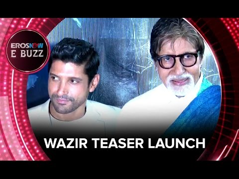 Amitabh Bachchan Checkmates At The Second Teaser Launch Of Wazir | ErosNow EBuzz
