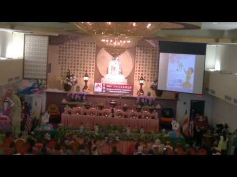 Buddha's Birthday at Guang Ming Buddhist Temple Orlando