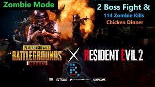 [Hindi] PUBG Mobile | Zombie Mode Amazing 2 Boss Fight & 114 Zombie Kills
