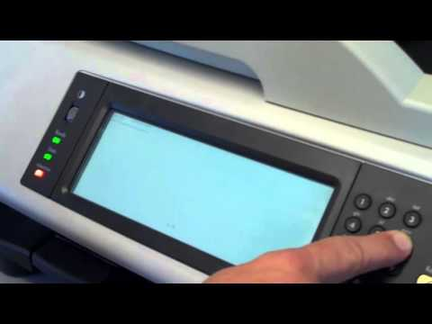 Cold Reset of HP MFP Devices