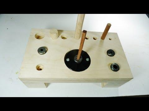 Making a dowel station