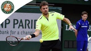 Stan Wawrinka v Lukas Rosol Highlights - Men's Round 1 2016 - Roland Garros