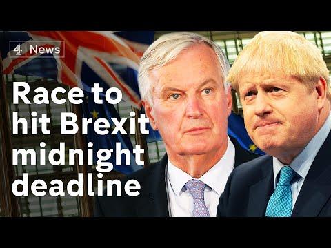 Brexit: Hopes rise for Brexit deal amid frantic negotiations