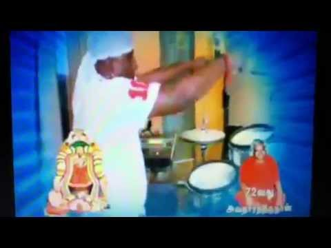 Drummer Sivamani On Arul Thiru Amma (adhiparasakthi) video