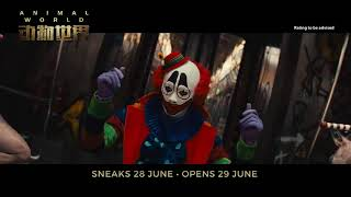 ANIMAL WORLD  Clown, Action, Science Fiction Movie Trailer 2018