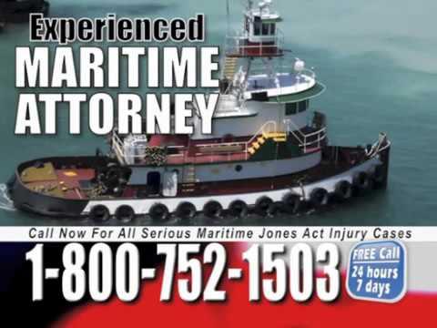 Bridgeport Maritime Lawyer   1 800 752 1503   Jones Act Attorney Bridgeport Connecticut