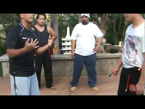 FMA Basic Knife Defense - Filipino Martial Arts Hawaii 1 of 2 Image 1