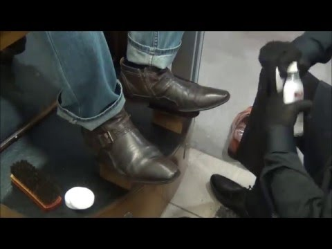 Кресло для чистки обуви своими руками 71