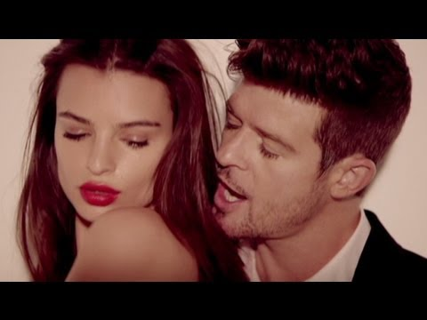 Robin Thicke 'Blurred Lines' Video Unrated Version Banned for Topless Women