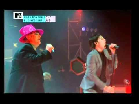 Mark Ronson & Business Intl ft Boy George 'Somebody To Love Me'